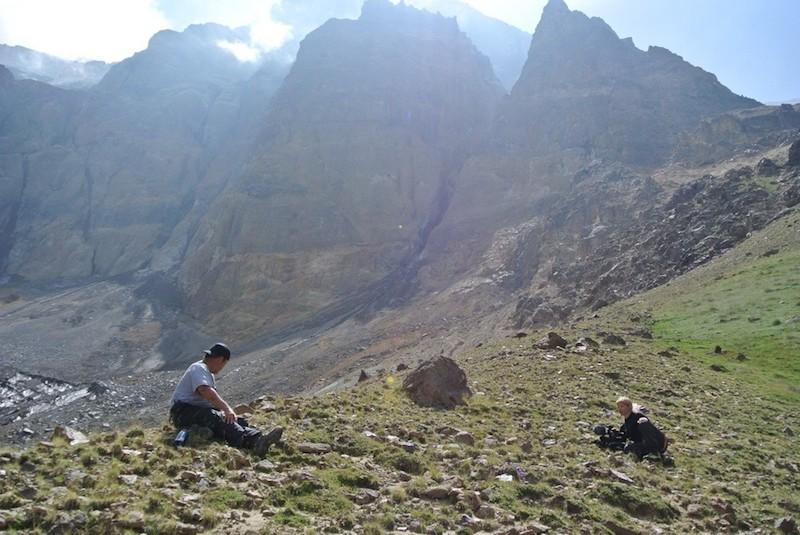 zbocza góry Ararat