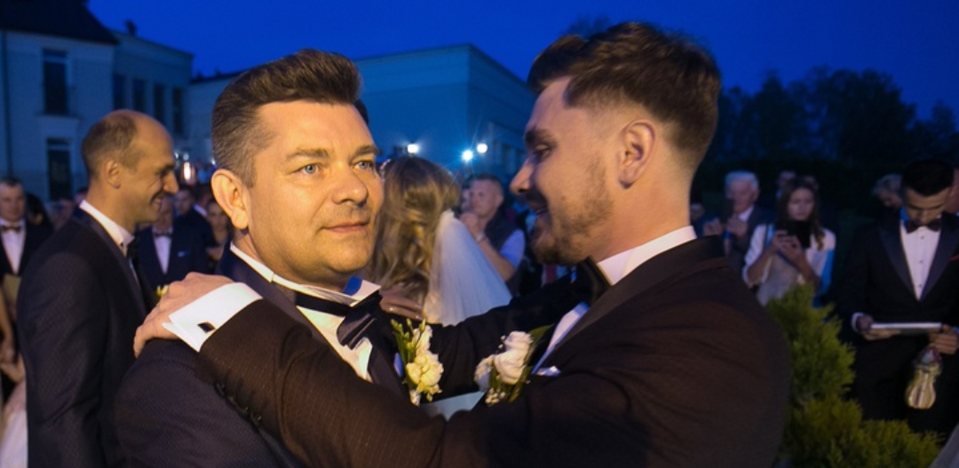 Zenek Martyniuk na weselu syna