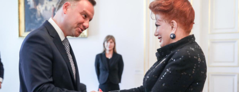 """Ilość żołnierzy USa w Polsce ma się zwiekszyć. Chcą tego polscy politycy. Ambasador Georgette Mosbacher udzieliła """"Financial Times"""" na ten temat."""